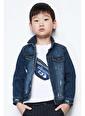 Nebbati Erkek Çocuk Mavi Ceket Mavi